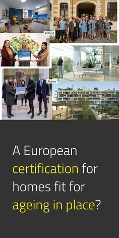"""Imagine a society where houses are within reach for all Europeans, regardless of age, income, gender, ethnic background, sexual orientation, or health status & where your house is truly your home. A supportive, enabling environment that helps you realize your full personal and social potential. This is the vision of """"Homes4Life"""" for 2040, an EU Certification Scheme for ageing in place. #NewEuropeanBauhaus #EUGreenDeal #SocialInnovation #Cohesion #HumanCities 📸 Pilots / © homes4life.eu"""