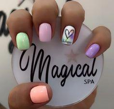 Simple Acrylic Nails, Classic Nails, Nail Designs, Nail Art, Beauty, Ideas, Gel Nail, Work Nails, Polish Nails