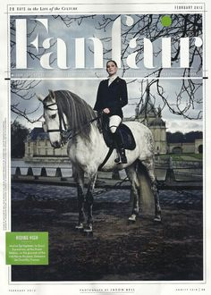 Jessica Springsteen in the February 2013 issue of Vanity Fair.