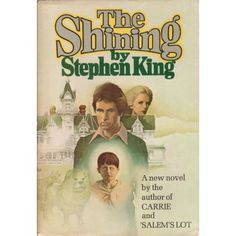 The Shining: Stephen King:  His earlier books are much better than the later ones.  I read every one.