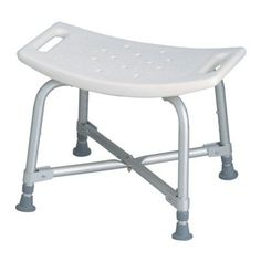 MDS89740AXW  Bariatric Bath Bench without Back -- Click the VISIT button to enter the Amazon website