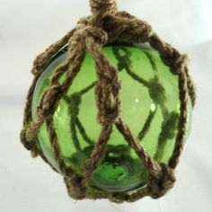 Green Japanese Floats | Many Hands Gallery