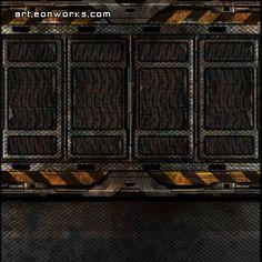 sci-fi metal floor texture