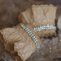love this jeweled cuffs