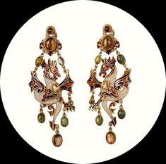 Как приручить дракона: подборка самых эффектных ювелирных украшений - Ярмарка Мастеров - ручная работа, handmade