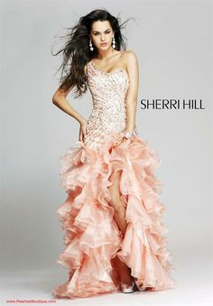 Sherri Hill Prom Dresses and Sherri Hill Dresses 3848 at Peaches Boutique