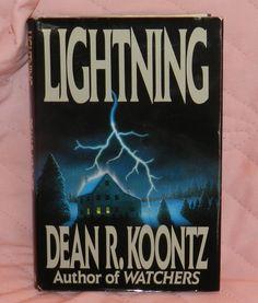 LIGHTING Hardbacd by Dean Koontz / 1988 edition $10.00 OBO + $8.50 Shipping