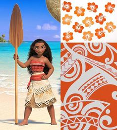 How to Make a DIY Moana Costume. Moana is the next film by Disney to capture the audience\'s hearts. The film stars Dwayne Johnson as the demi-god Maui and Auli\'i Cravalho as Moana, the first Polynesian Disney princess. It will surely...