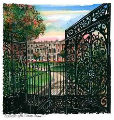 David Crighton - Osgoode Hall Toronto Neighbourhoods, High Contrast Images, Framed Art Prints, Canvas Prints, Queen Street West, Canadian Artists, Art Reproductions, Historical Sites, Amazing Art