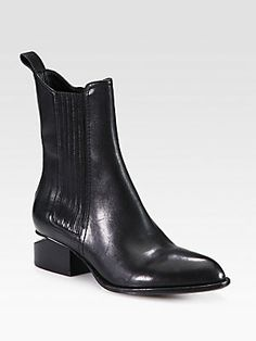Alexander Wang Anouck Chelsea Leather Boots