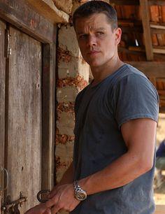 Matt Damon as Jason Bourne, The Bourne Identity