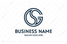 Logo for sale: Letter Gs Sg Logo. Unique combination of GS and SG letter. The symbol itself will looks nice as social media avatar and website or mobile icon. SG GS G water drop yin yang consultant consulting consultation lawyer attorney law office buy purchase sell on sale sold product business brand design graphic unique recognized professional software apps app applications application logo logos ggg