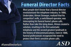 Resourceful funeral directors