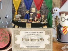 Sono passati anni da quando il maghetto più famoso al mondo è apparso sul grande schermo, ma la passione per la serie cinematografica basata sull'omonima saga letteraria di J. K. Rowling Harry Potter, Saga, Grande, Decor, Party, Decoration, Decorating, Deco