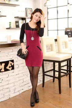 midi, long, sleeve, dress, final, clearance, GHL0110, yrb, fashion, yrbfashion,