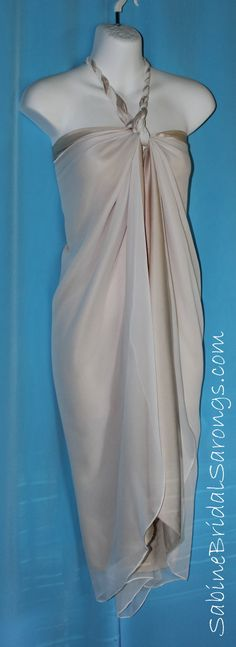 Silk Sarong Wedding Dresses 58