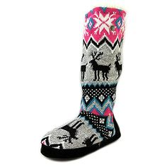 Muk Luks Grace Women US 65 Multi Color Winter Boot -- Check out this great product.