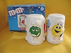 M&M's Salt and Pepper Shaker Set (Fine China and Porcelain)