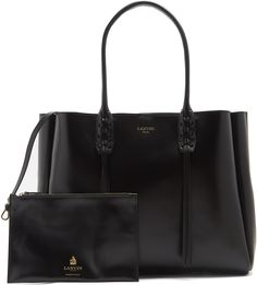 LANVIN Nela leather tote