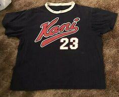 317c75870ee8 Karl Kani Jeans Vintage Shirt # 23 Size M/L Medium Large Rap Hip Hop