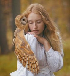 """""""Katerina Plotnikova is a young moscow-based fine art photographer who brings animals and humans together in her spiritual and magical photography. her fairy-tale-inspired works recreate the long-lost or long-forgotten bond between animals and humans."""""""
