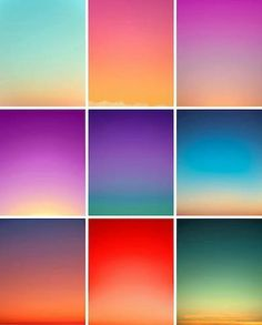 Seeing a color filled sky is a gorgeous way to end the day. Enjoy this series of sunsets by Eric Cahan http://ericcahan.com/portfolio/sky-series/