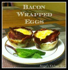 Bacom wrapped eggs