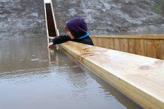 If I had a river in my yard, I'd want a sunken bridge.