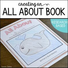 Informative writing unit to help your student through the writing process and align with the common core standards!  Each year my 1st grade students research animals and create their own All About Books!  This pack guides you step-by-step as you help your kids discover their love for non-fiction texts and writing.  In the end, you have some adorable and informative books for your students to keep!