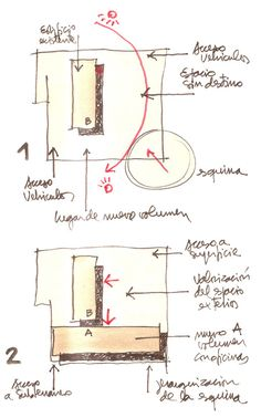 Edificio MOP Rancagua,Dibujos 1 y 2