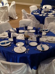Our NJROTC Military Ball Decorations Banquet Centerpieces, Banquet Decorations, Ceremony Decorations, Blue Wedding Decorations, Retirement Party Decorations, Air Force Ball, Navy Ball, Retirement Celebration, Pearl Party
