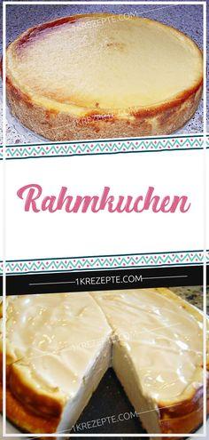 Rahmkuchen - 1k Rezepte