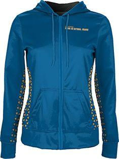 Elizabeth City State University Girls Zipper Hoodie Ripple School Spirit Sweatshirt