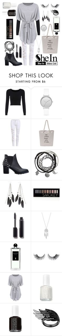 Untitled #33 by diva-calista on Polyvore featuring Lucky Brand, Skagen, Charlotte Russe, Forever 21, Chanel, Serge Lutens and Essie