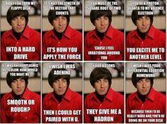 Howard Wolowitz says Happy Valentine's Day.