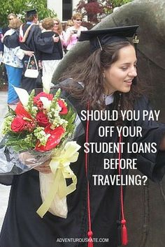 This week's Ask Kate question is actually the same question from three different readers — because I see it all the time. If you want to travel long-term but are carrying student loans, this question is for you.