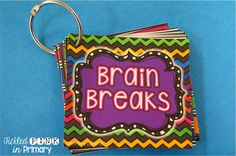 30 Brain Breaks with directions (editable slide included)