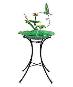 Look what I found on #zulily! Green Hummingbird Fountain #zulilyfinds $79.99