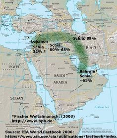 The Sunnis in Saudi Arabia and elsewhere are worried that the Shiites in Iran will create a crescent to dominate the Middle East.