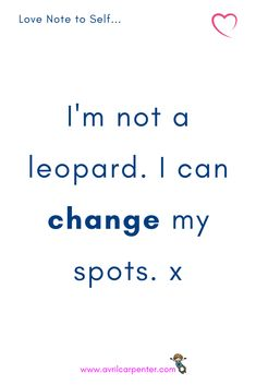‼Sometimes we think, I've been struggling with food for so long, can I really change? You're not a leopard, lovely. Inspirational Quotes For Women, Motivational Quotes, Note To Self, Self Love, Female Leaders, Feeling Frustrated, I Can Change, Willpower, Weight Loss Inspiration