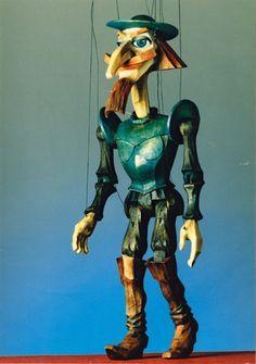 Don Quixote marionette