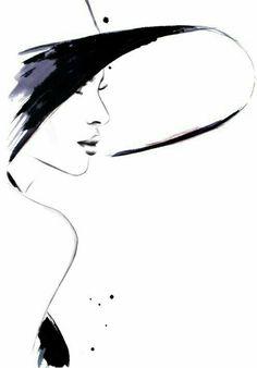 "Fashion Illustration Ideas fashion illustrations by kornelia dębosz — ""Cappuccino Flirt"" inspiration: a photo with. Fashion Sketches, Art Sketches, Art Drawings, Fashion Illustrations, Drawing Fashion, Fashion Illustration Face, Simple Sketches, Tableaux Vivants, Illustration Mode"