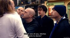 When he made this bold threat. | 31 Times You Could Really Relate To Bernard Black