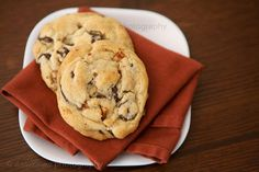 bacon chocolate chip cookies--the bacon should be finely chopped.  Private Selection Organic Chocolate Chips are the best!