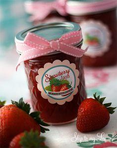 Making+Strawberry+Jam+{Ball+FreshTECH+Automatic+Jam+and+Jelly+Maker+Giveaway}