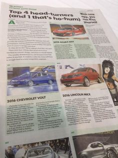 Did you guys read USA Today? The 2016 Volt was a hit at the #NAIASGM #NAIAS2015 #NextGenVolt ^MS