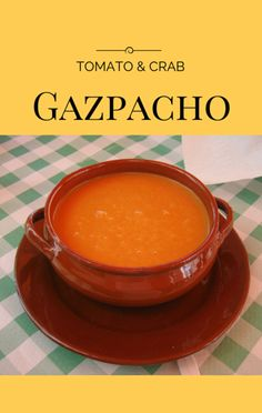 Chef Shea Gallante visited Today Show to share a simple no-cook recipe for Tomato Gazpacho with Crab, Avocado and Basil, which won't heat up the kitchen. Best Fish Recipe Ever, Best Fish Recipes, Seafood Recipes, Dinner Recipes, Dessert Recipes, Kitchen Recipes, Cooking Recipes, Tomato Gazpacho, Green Drink Recipes