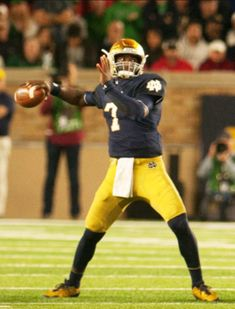 4e08e450a BRANDON WIMBUSH QB. John Sheetz · Notre Dame football