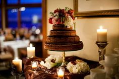 Grooms cake-Tiered cheesecake