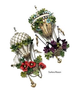 Beaded Brooch, Beaded Embroidery, Grapevine Wreath, Grape Vines, Christmas Wreaths, Floral Wreath, Beads, Knitting, Sewing